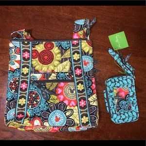 NEW Disney Vera Bradley Wallet & Purse Set